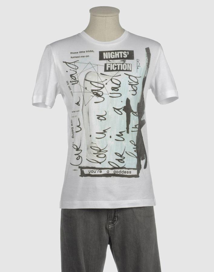 Raf By Raf Simons Short sleeve t-shirts