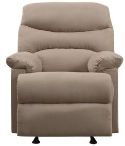 """Thumbnail for your product : Winston Porter Hayner 38"""" Wide Manual Glider Club Recliner"""