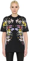 Givenchy Flowers Printed Cotton Jersey T-Shirt