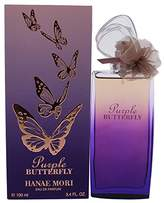 Hanae Mori Purple Butterfly for Women Eau de Parfum Spray, 3.4 Ounce