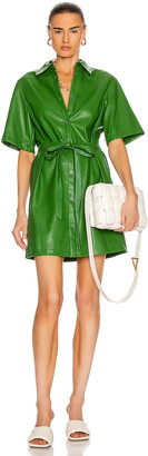 STAUD Blaze Dress in Emerald | FWRD