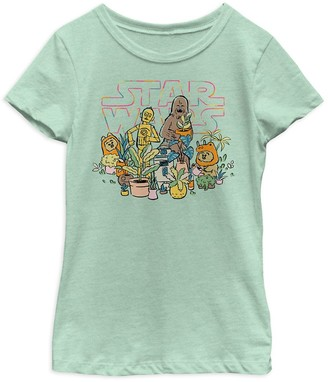 Disney Star Wars Greenhouse T-Shirt for Girls