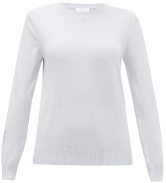 Derek Rose Finley Cashmere Sweater - Womens - Light Blue