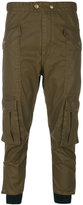 Etoile Isabel Marant Dexter cargo trousers - women - Cotton/Polyester/Epoxy Resin - 38