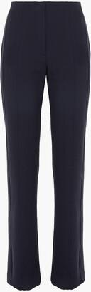 Victoria Victoria Beckham Crepe Straight-leg Pants