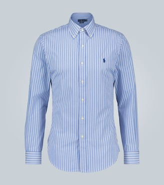 Polo Ralph Lauren Slim-fit striped cotton shirt
