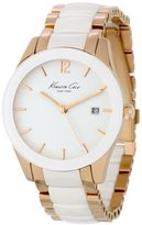 Kenneth Cole New York Women's KC4739 Classic Round Analog Ceramic Bezel Case Watch