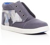Toms Boys' Paseo Camo Print High Top Sneakers - Toddler