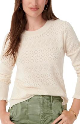 J.Crew Pointelle Cashmere Sweater