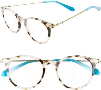 Lilly Pulitzer Coast 48mm Round Reading Glasses