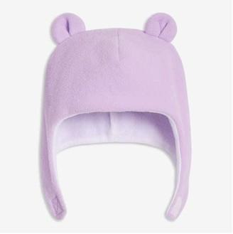 Joe Fresh Baby Girls' Fleece Trapper Hat, Lavender (Size 12-24)
