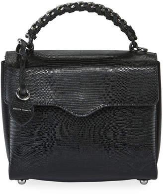Rebecca Minkoff Chain Satchel Bag - Silver Hardware