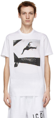 DSQUARED2 White Jump Cool Fit T-Shirt