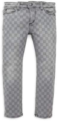 DL1961 Premium Denim Little Girl's & Girl's Chloe Gingham Skinny Jeans
