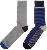 Linea Contrast Half Stripe Sock