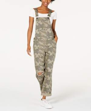 Vanilla Star Ripped Camouflage Overalls