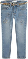Mayoral Girl skinny fit jeans with rhinestones