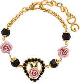 Dolce & Gabbana rose chain bracelet