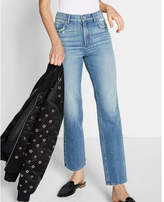 Express high waisted original straight ankle jeans