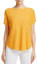 Eileen Fisher Short Sleeve Boxy Sweater