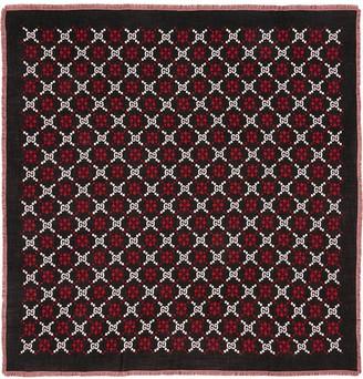 Gucci GG diamond wool shawl