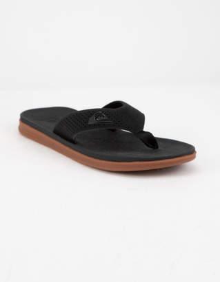 Quiksilver Haleiwa Plus Black Mens Sandals