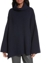 Joseph Women's Ribbed Wool Poncho