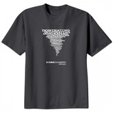 Storm Chasers Dominating T-Shirt Charcoal