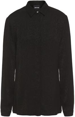 Just Cavalli Satin-jacquard Shirt