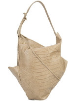Vivienne Westwood deconstructed shoulder bag - women - Leather - One Size