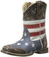 Roper American Square Toe Cowboy Boot (Toddler)