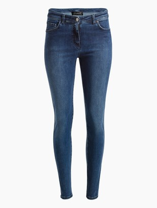 St. John Stretch Denim 5 Pocket Slim Ankle Jean