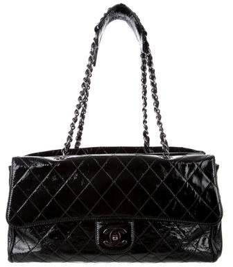 Chanel Patent Ritz Flap Bag