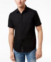 INC International Concepts Men's Linen-Blend Stretch Shirt, Created for Macy's