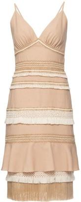 PatBO Tiered Lace Dress
