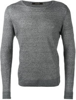 Tagliatore Merlin slim-fit jumper - men - Linen/Flax - 48