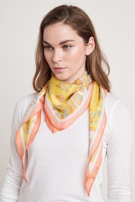 Velvet by Graham & Spencer Diamond Shape Silk Scarf