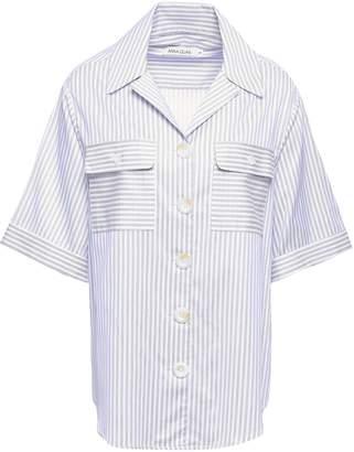Anna Quan Dolly Striped Cotton Shirt
