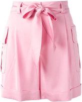 Moschino cargo pocket shorts - women - Rayon/other fibers - 46