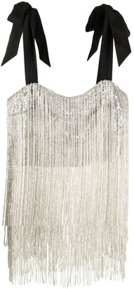 macgraw Thistle sequin-embellished top