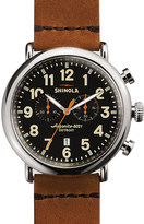 Shinola S0100044 Runwell stainless steel watch
