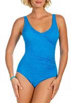 Penbrooke Mock Surplice Mio One Piece Swimsuit