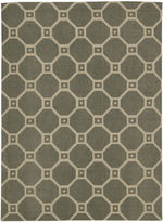 Waverly Ferris Wheel Jute Rectangular Rug