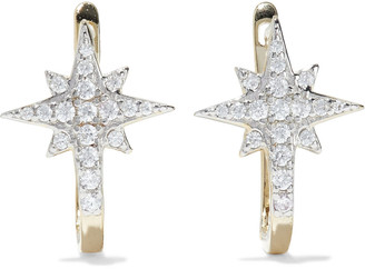 Shashi Celeste 18-karat Gold-plated Sterling Silver Crystal Earrings