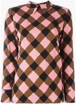 Marni printed collar blouse