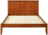 Ecoflex Furniture Shaker Style Panel Full Size Platform Bed, Cherry, Queen