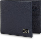 Salvatore Ferragamo Grained leather billfold wallet