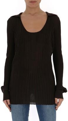 Bottega Veneta Long Sleeve Knit T-Shirt