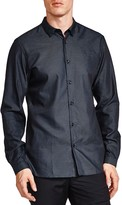 The Kooples Easy Dots Slim Fit Button-Down Shirt
