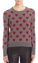 Burberry Oykhel Heart-Print Wool Sweater